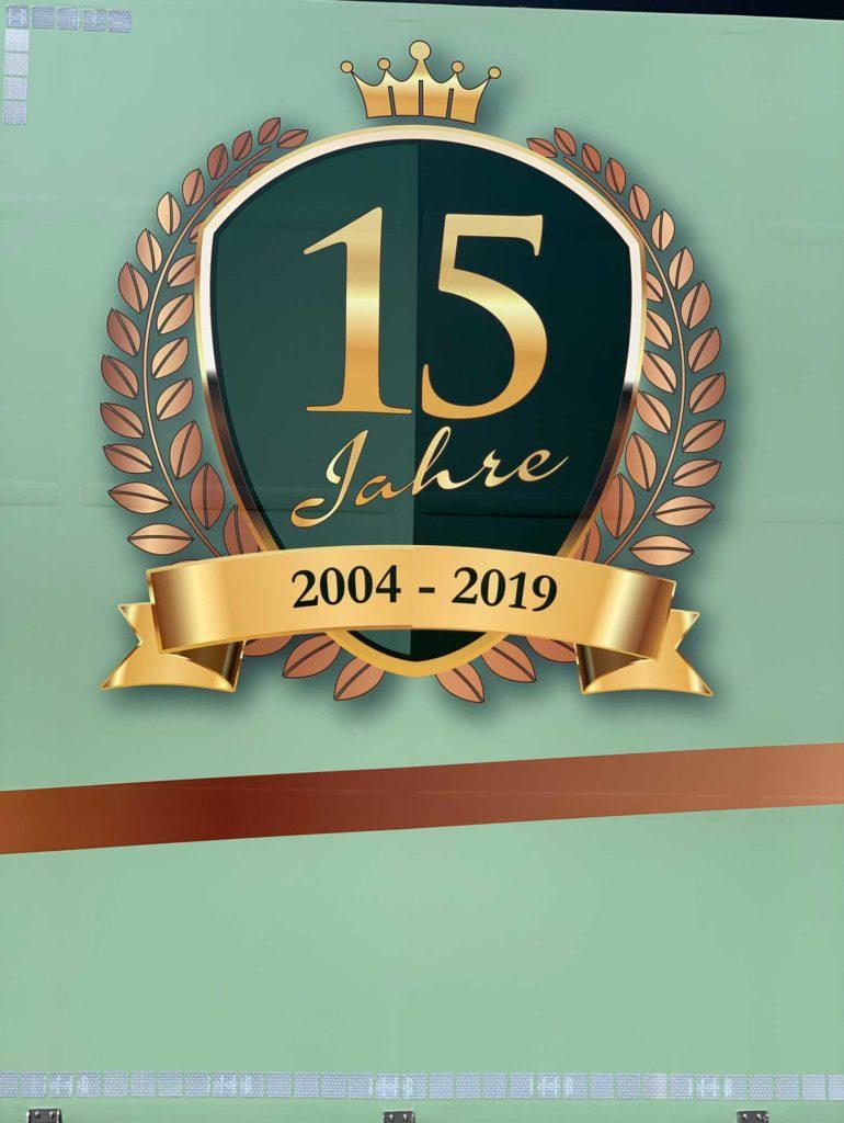 15 Jahre - Neuer LKW
